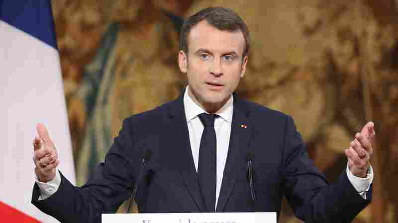 France's Macron Says He Wants Law To Combat Fake News