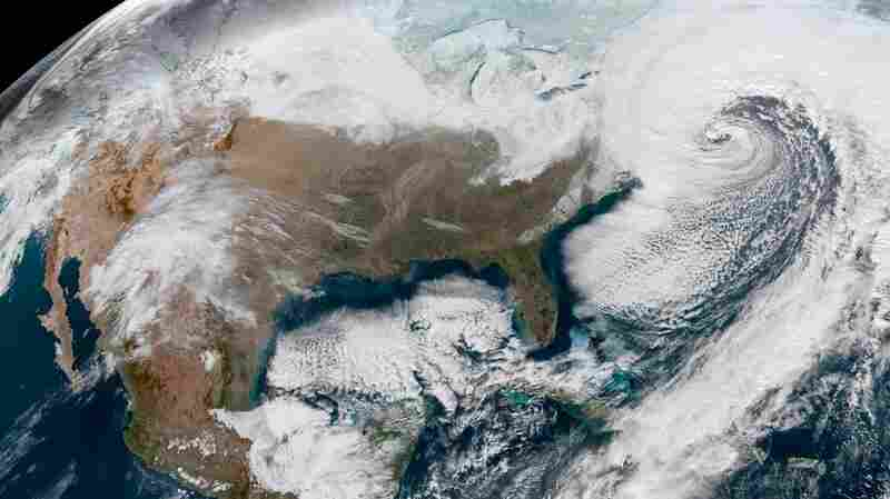 Blizzard Conditions Hit New England As Massive Winter Storm Travels North