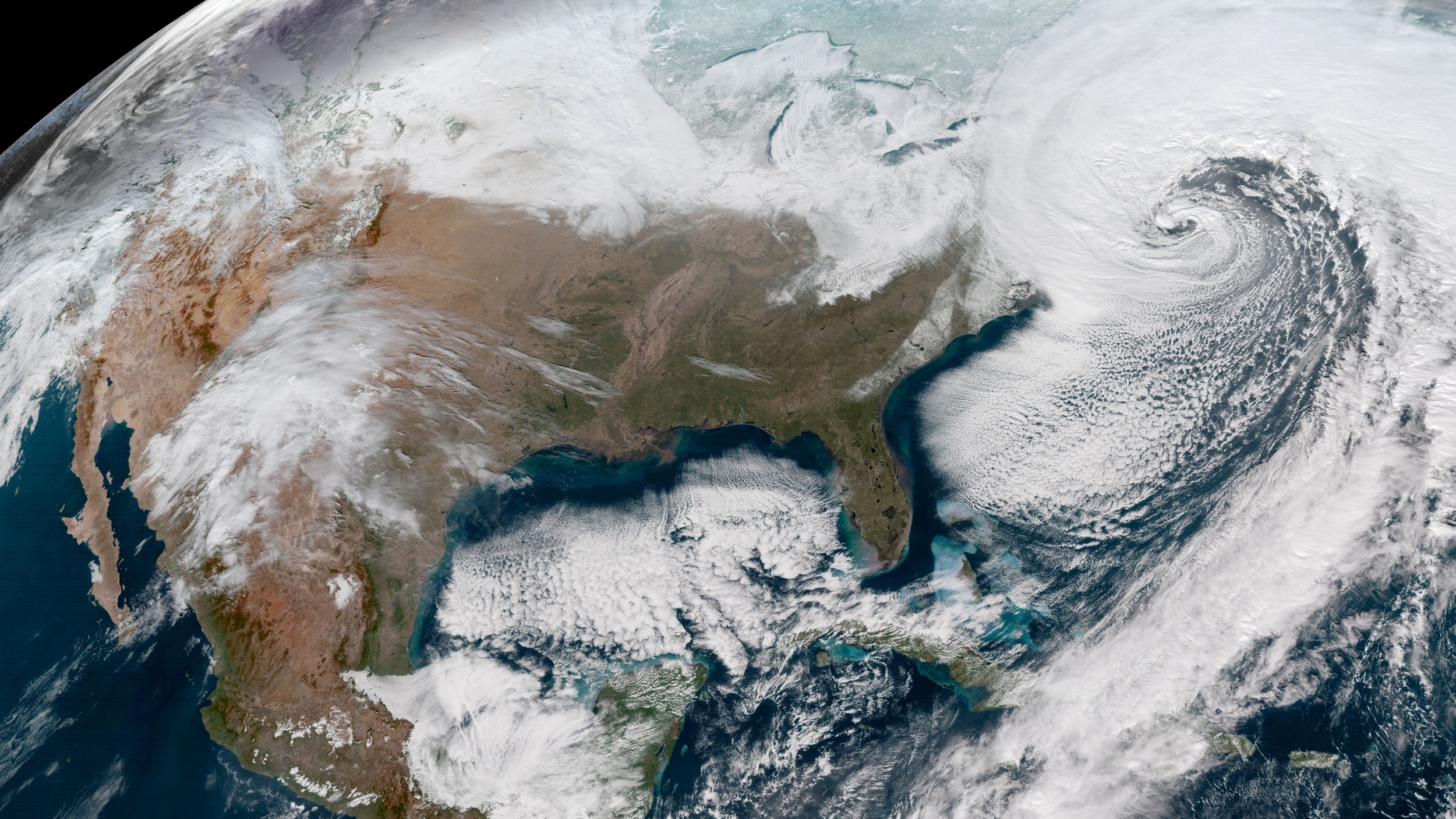 Major Snowstorm Brings Blizzards To Northeast US