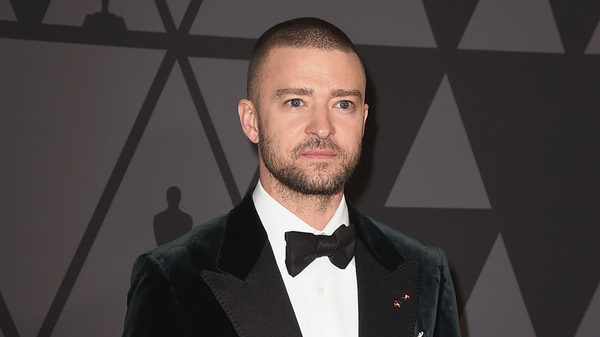 Justin Timberlake attends 9th Annual Governors Awards in November 2017. The pop star