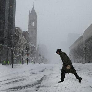 Blizzard Has Passed, But Frigid Temperatures Remain Along East Coast