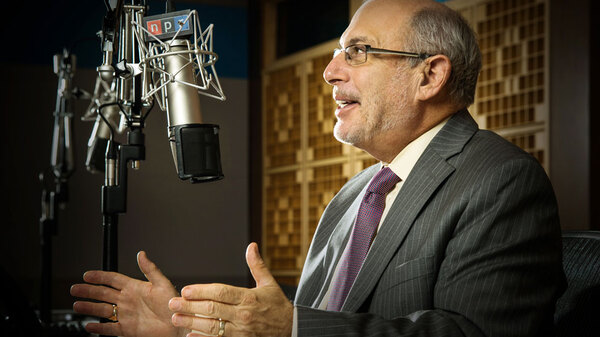Robert Siegel is retiring from NPR after 40 years. Over his tenure, he