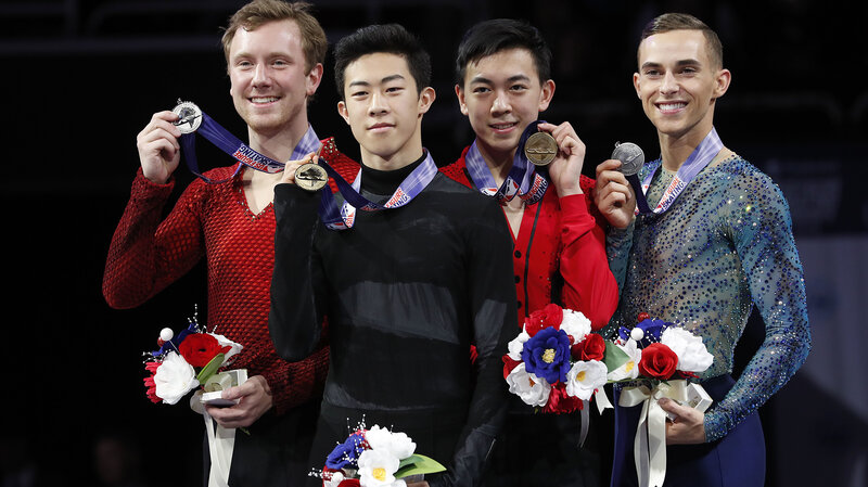 past us olympic skaters