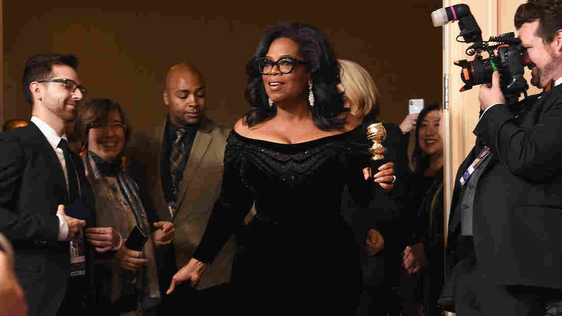 Sure sounds like Gayle wants Oprah to run for president, too