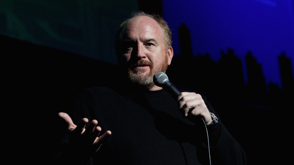 Comedian Louis C.K. performs in New York on Nov. 5, 2014. C.K. has admitted to masturbating in front of women without their consent. (Monica Schipper/Getty Images for New York Comedy Festival)
