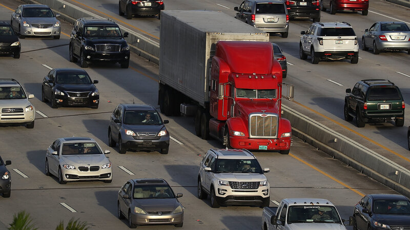 Trucking Industry Struggles With Growing Driver Shortage : NPR