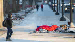 Shelters Reach Capacity In Cold Weather As Homeless Population Rises
