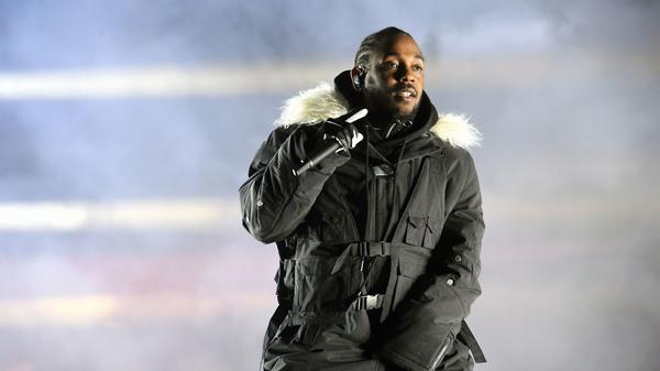 ATLANTA, GA - JANUARY 08: Rapper Kendrick Lamar performs in Atlanta