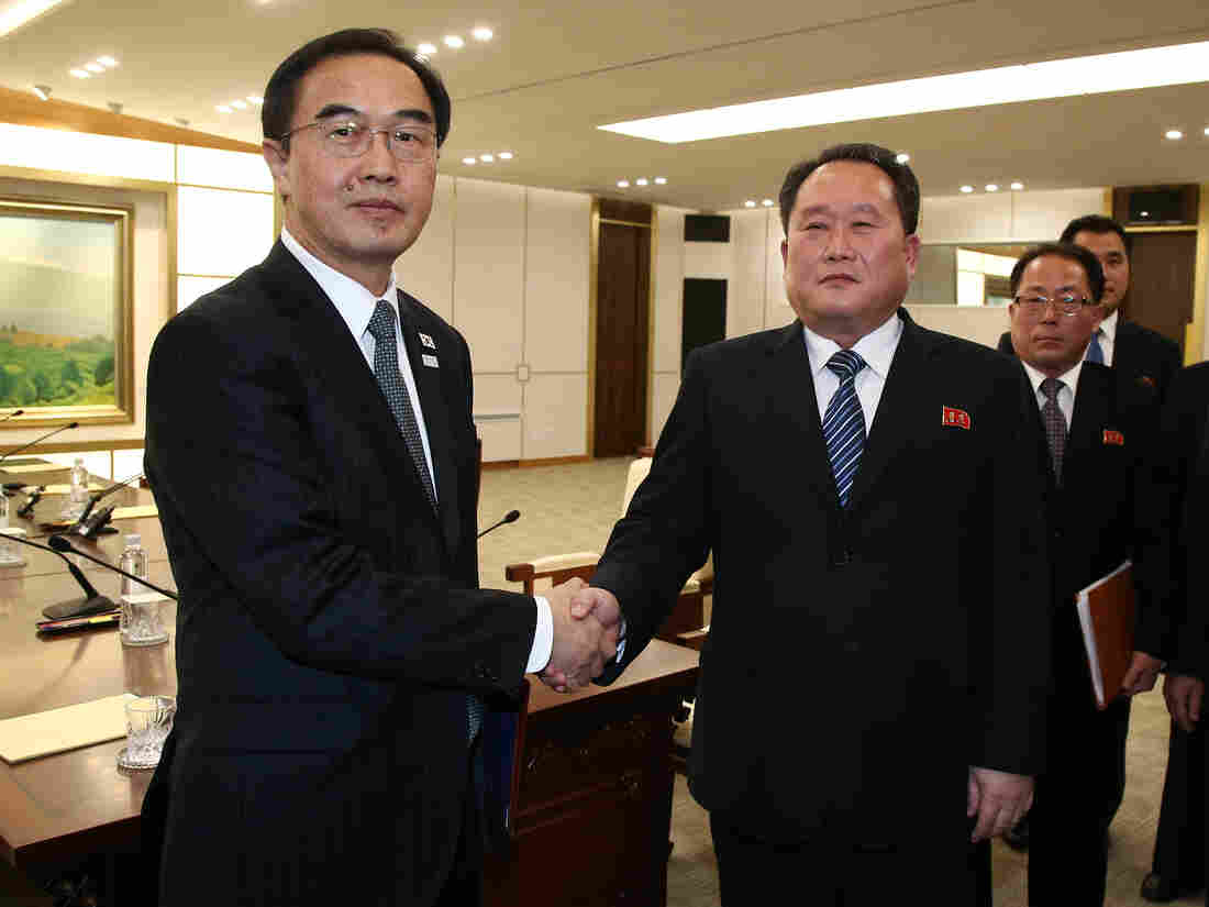 S Korea proposes meeting with N Korea to discuss Olympics