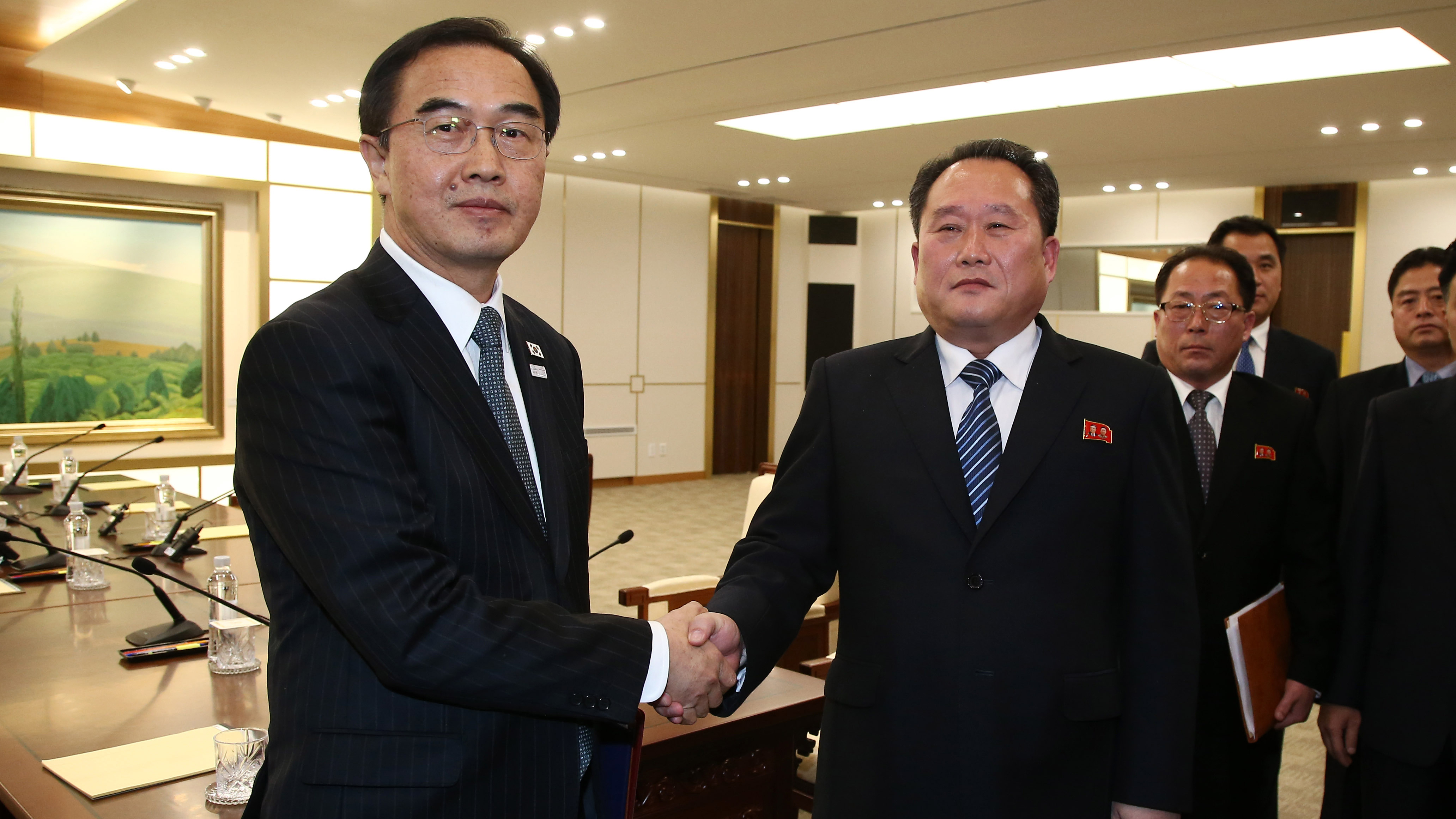 Image for North And South Korea Reach Breakthroughs In First High-Level Talks In 2 Years Article