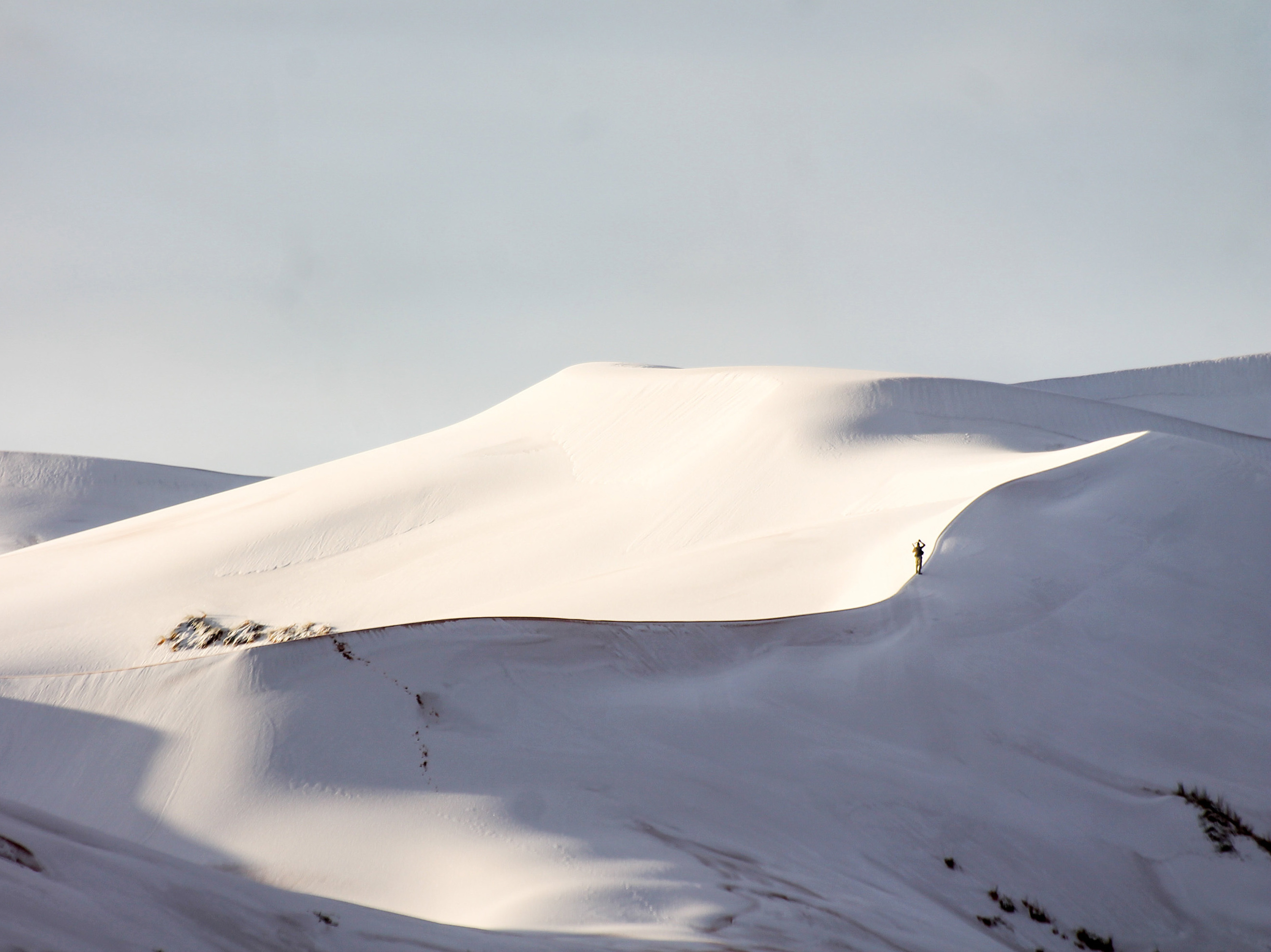 A Rare Winter Storm Covered the Sahara Desert in Snow