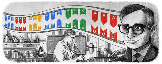 the man in the google doodle the famously humble nobel prize winner