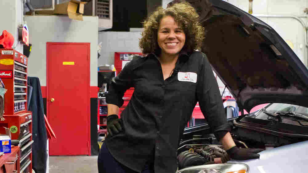 Girls Auto Clinic Owner: 'I Couldn't Find A Female Mechanic, So I Had To Learn'