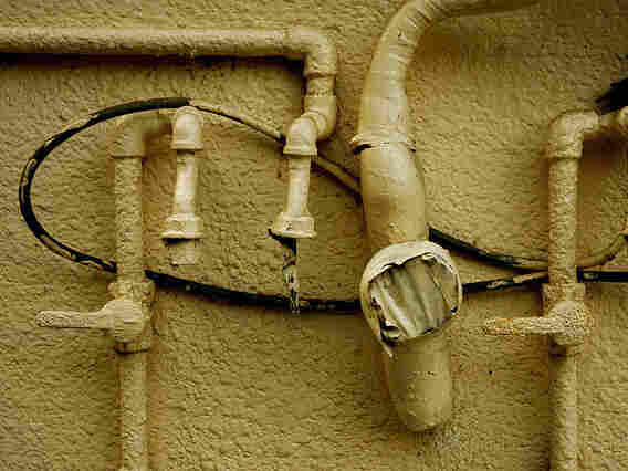 Old pipes.