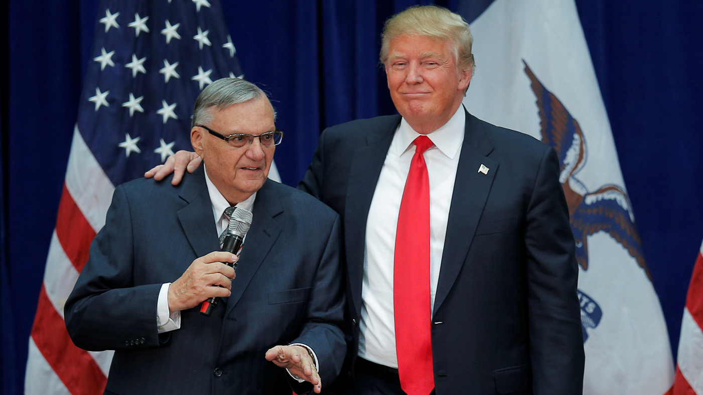Joe Arpaio Will Run For A U.S. Senate Seat, Pledging Support For Trump
