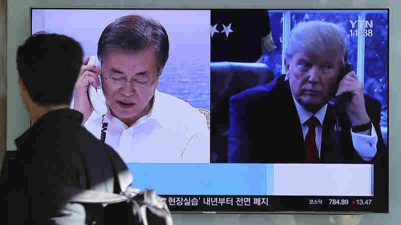 Trump Reiterates Openness To Talks With North Korea At 'Appropriate Time'