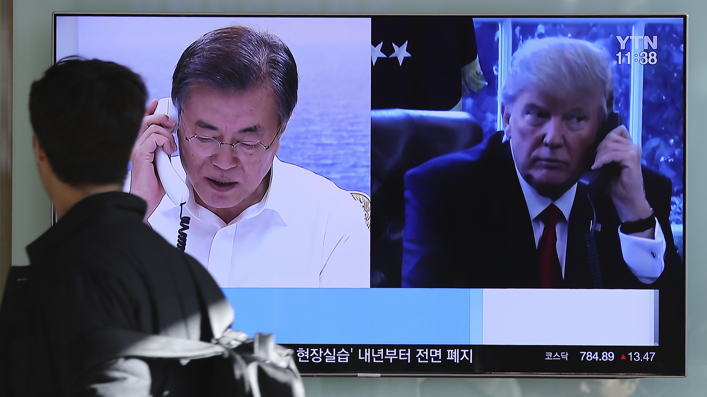 Denuclearisation of Korean peninsula is path to peace: South Korea's Moon