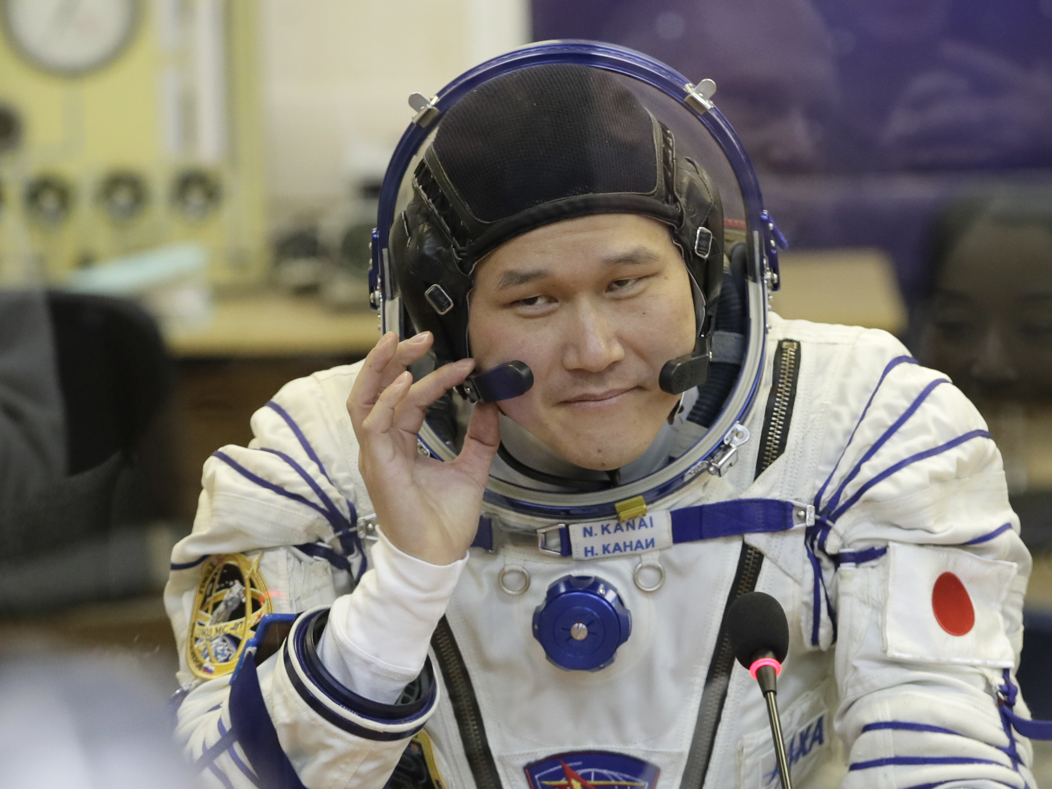 Japanese astronaut anxious after growing 9cm in space