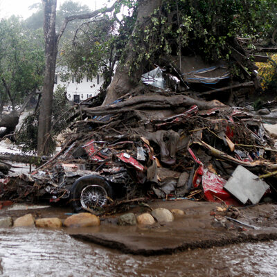 Search Efforts Continue After California Mudslides Killed At Least 17