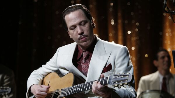 Melody, Unchained: Reda Kateb plays Django Reinhardt — and the guitar — as the music legend attempts to escape German-occupied France in Django.