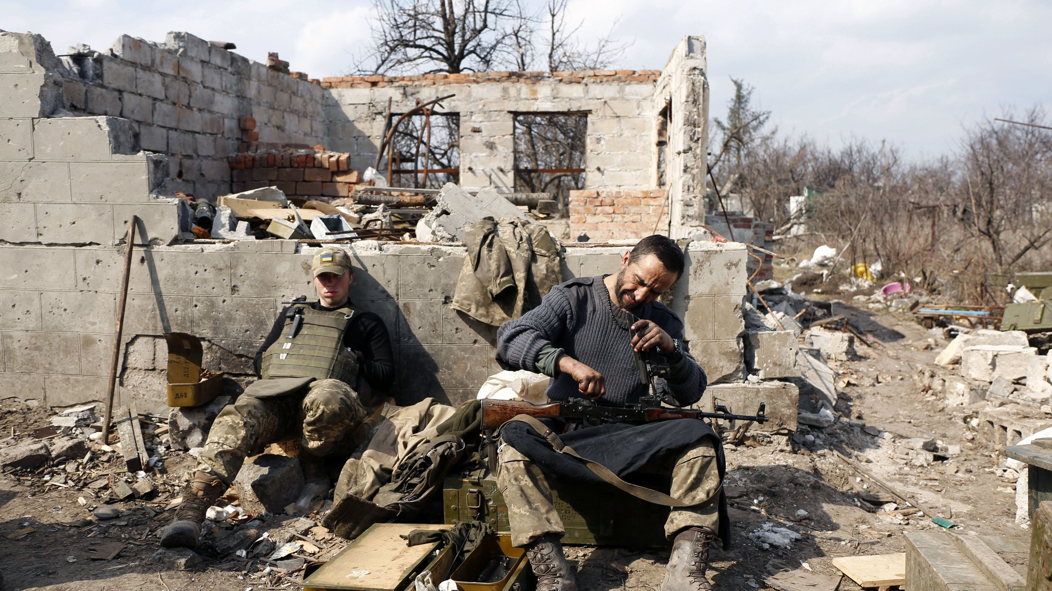 'Simmering Conflict' In Eastern Ukraine Remains At An Impasse