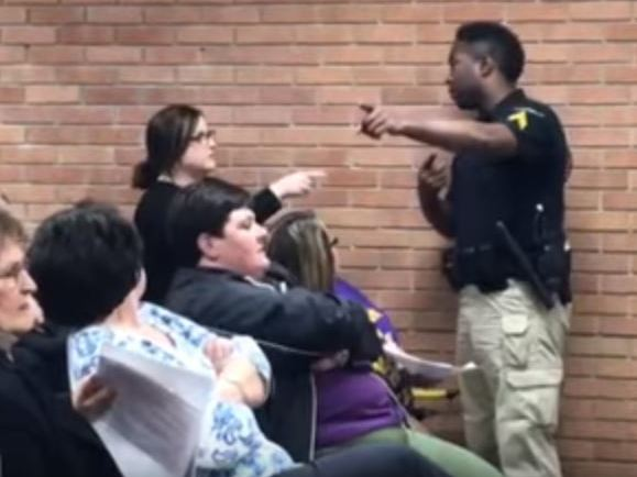 Arrest of teacher at Louisiana school board meeting gains national attention, reaction