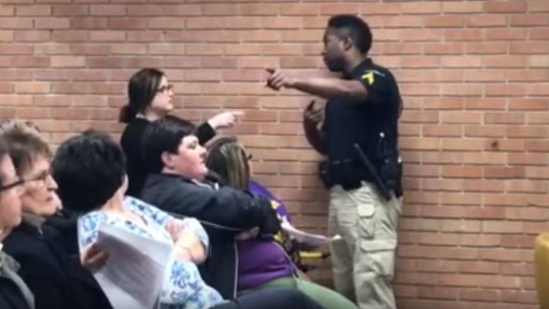 Teacher removed from Vermilion school board meeting in handcuffs