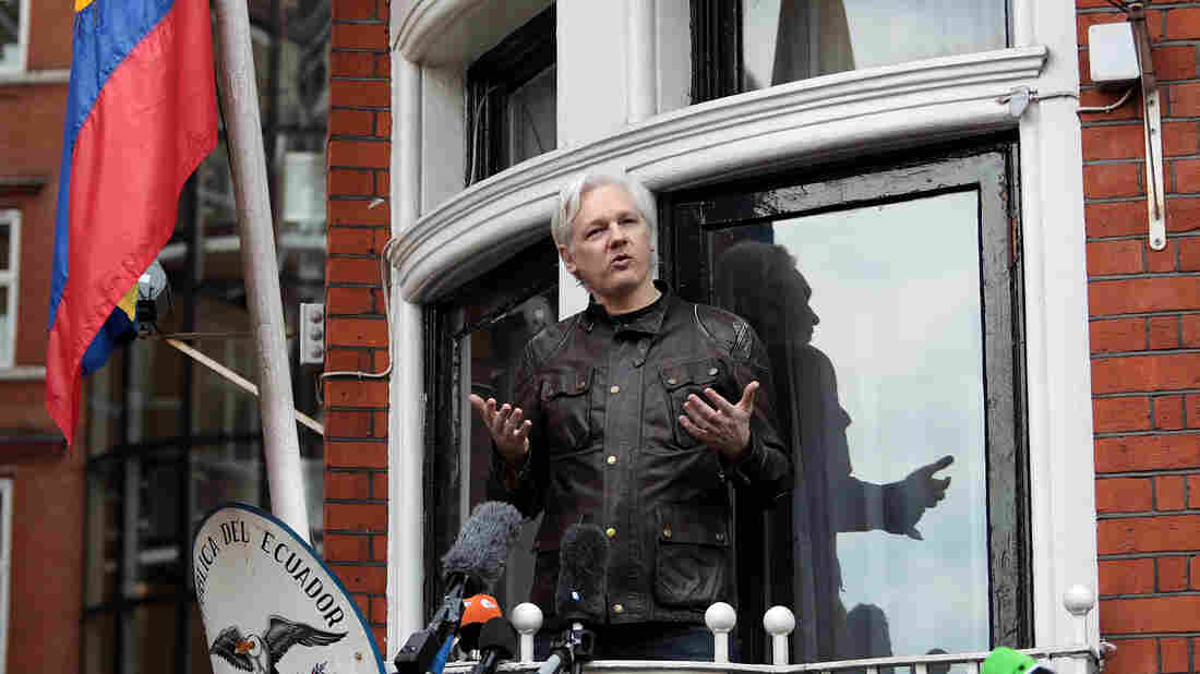 Julian Assange is given Ecuadorian citizenship to leave embassy