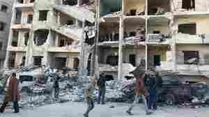 Syria Violence Sends Thousands of Civilians Fleeing 'De-Escalation Zone'