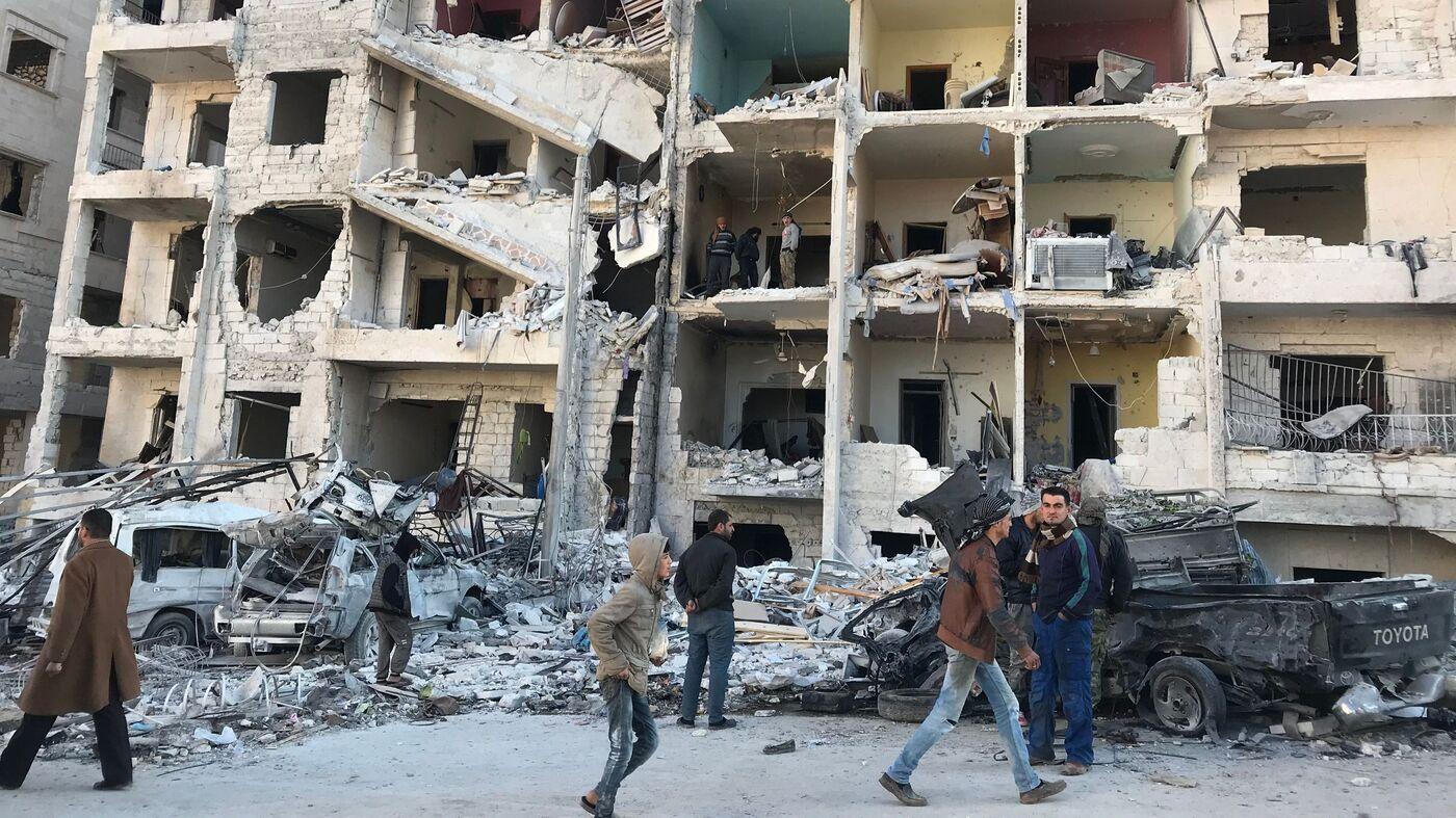 Syria Violence Sends Thousands of Civilians Fleeing 'De-Escalation Zone'
