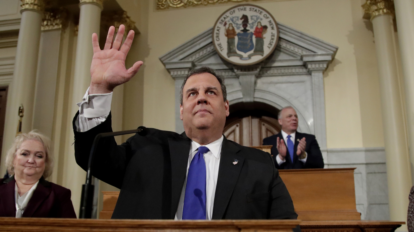 A Republican Star Fallen, Chris Christie Leaves Office