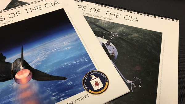 CIA Calendar Art Offers A Glimpse Into The World Of Spies