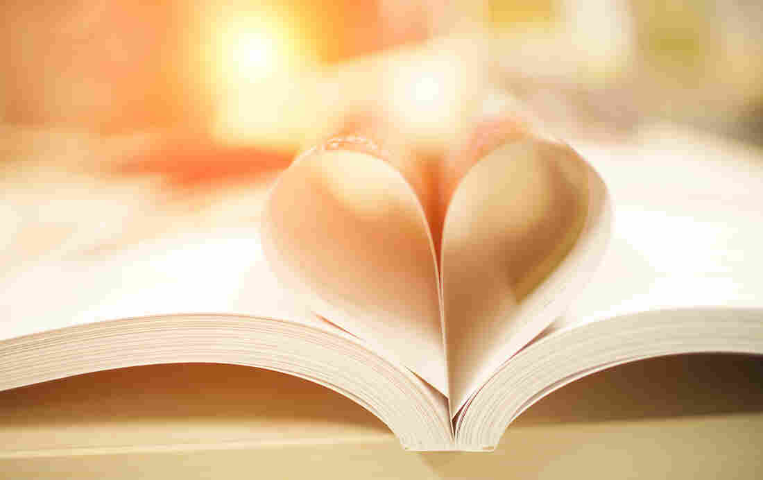Heart book page