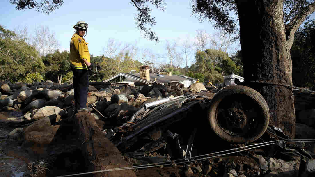 Firefighters Rescue Girl, 14, From Home Destroyed In Tragic California Mudslides