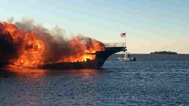 Woman Dies After Florida Boat Fire Sends Dozens Of Panicked Passengers Overboard