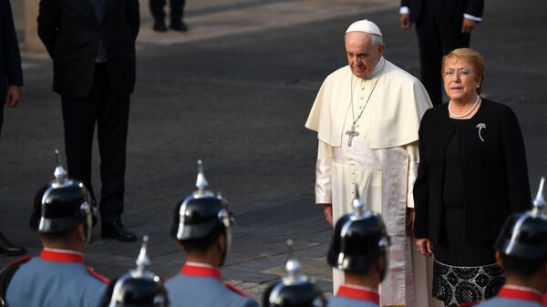 On Visit To Chile, Pope Asks For Forgiveness Over Sex-Abuse Scandal