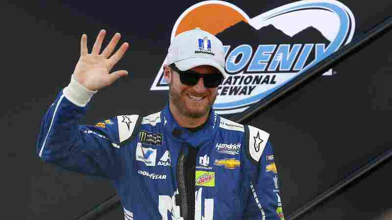 Even Dale Earnhardt Jr. Skids And Rams Tree In Snowstorm