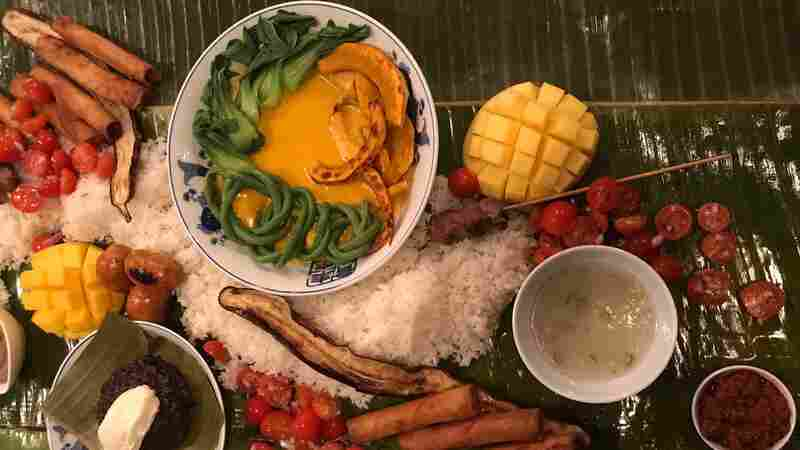 With A Show Of Hands, Filipino-American Chefs Rekindle Kamayan Feasts