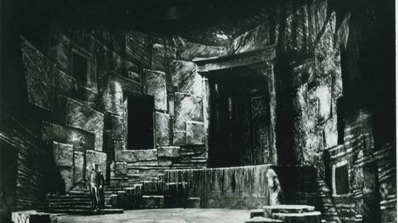 The 1983 Canadian Opera Company production of Elektra, the first to use supertitles.