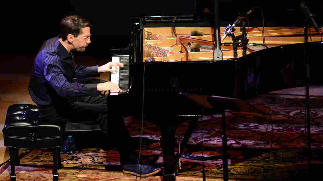 Fred Hersch at his Leaves of Grass performance.