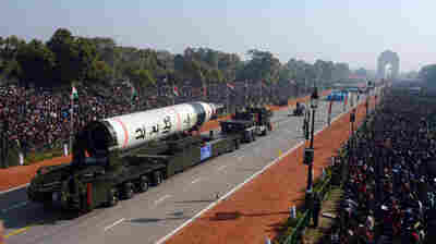 India Tests Long-Range Missile, Lauding 'Major Boost' To Military Capability
