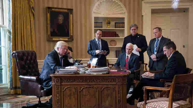 Turnover In Trump's White House Is 'Record-Setting,' And It Isn't Even Close