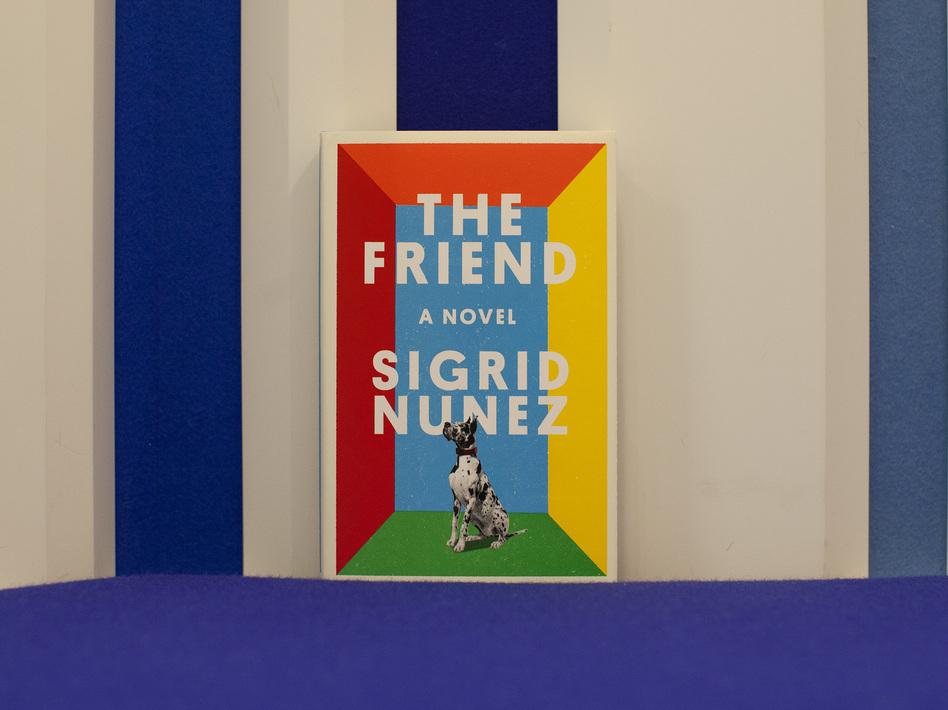 """The Friend"" by Sigrid Nunez (Eslah Attar/NPR)"