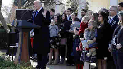 'You Love Every Child': President Trump Addresses March For Life