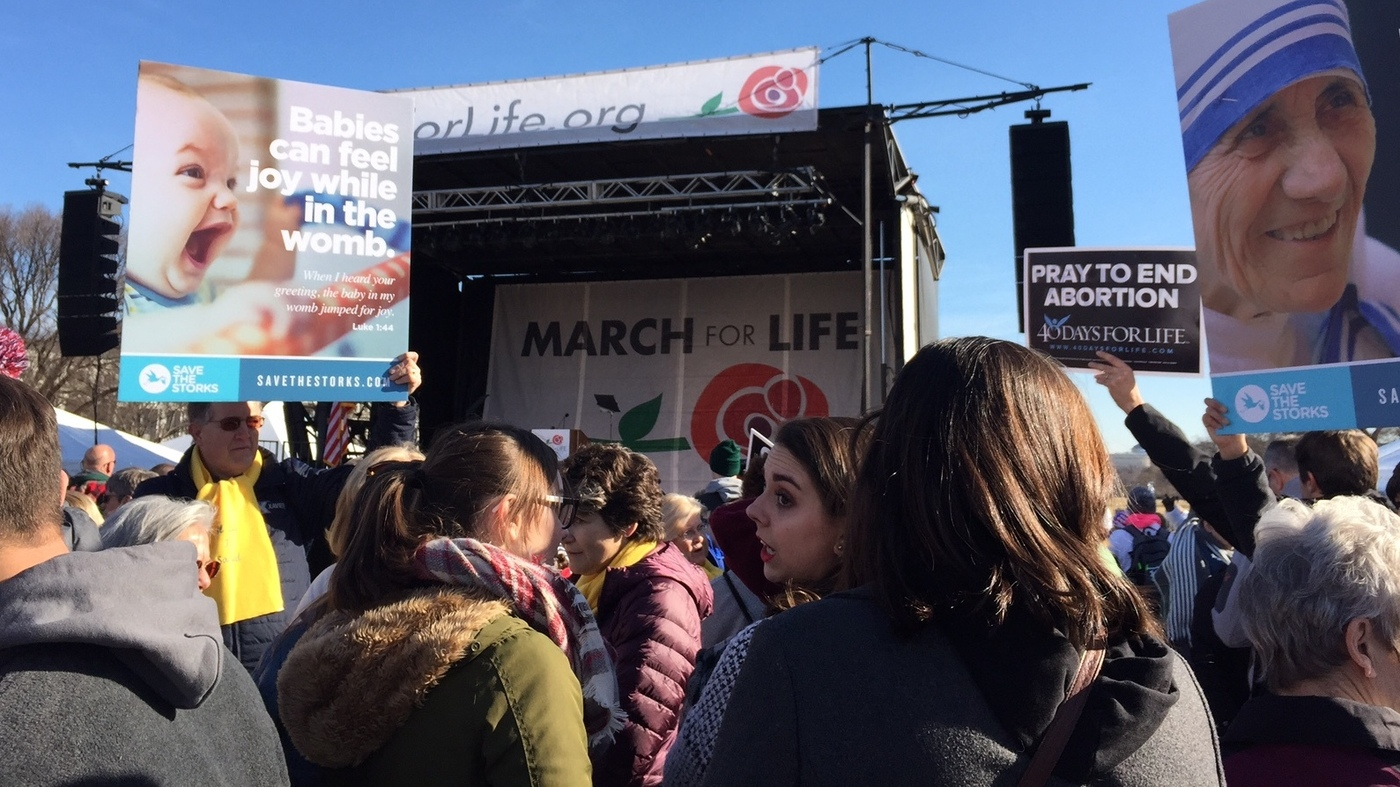 March For Life >> March For Life President Trump Addresses Anti Abortion Rights