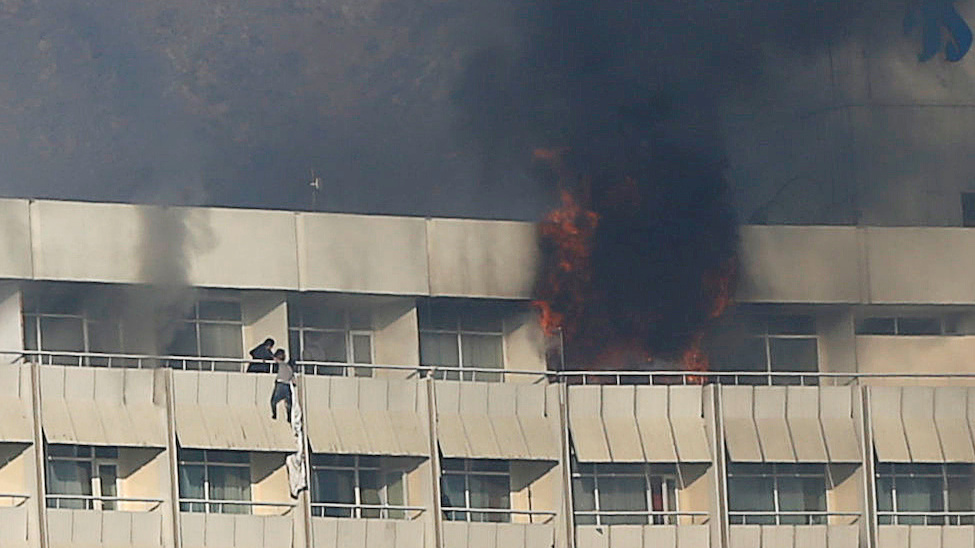 Taliban Claims Responsibility After Gunmen Attack Luxury Hotel In Kabul