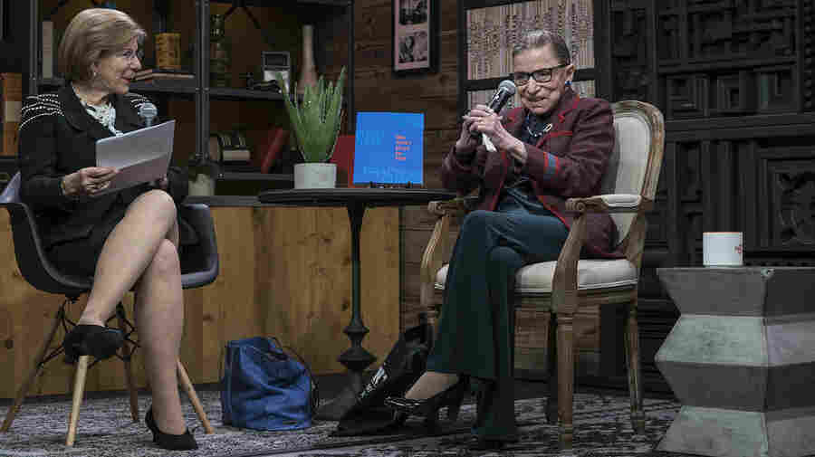 Justice Ruth Bader Ginsburg Reflects On The #MeToo Movement: 'It's About Time'