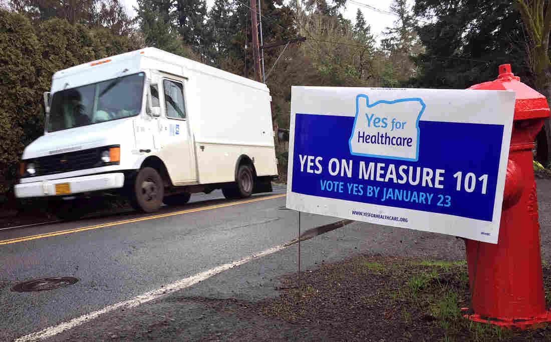 Oregon Measure 101: YES