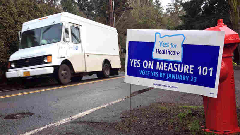 Part Of Oregon's Funding Plan For Medicaid Goes Before Voters