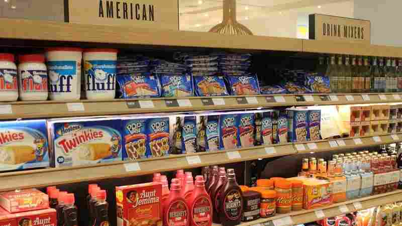 In London, The American Food Aisle Is Filled With Nostalgia And Preservatives